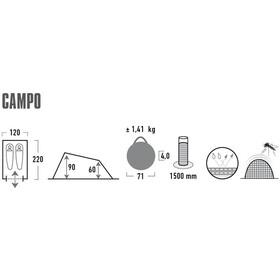 High Peak Campo Tiendas de campaña, camouflage